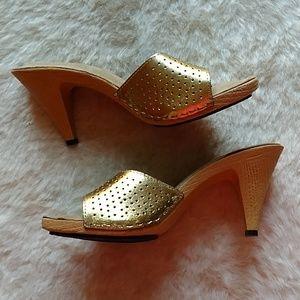 Vintage Glam Gold Candies Style slip on 8